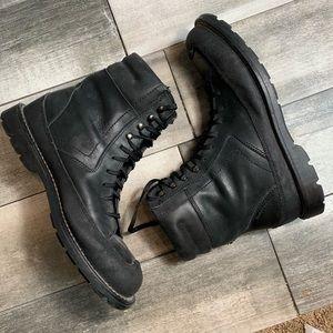 {Harley Davison} leather riding boots